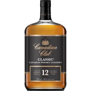 Canadian Club Classic 750ml