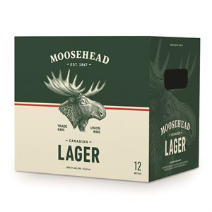 Moosehead Lager 12 B