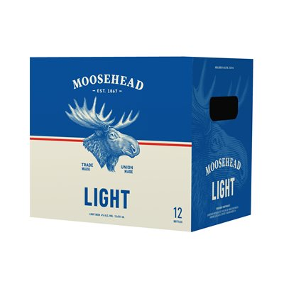 Moosehead Light 12 B