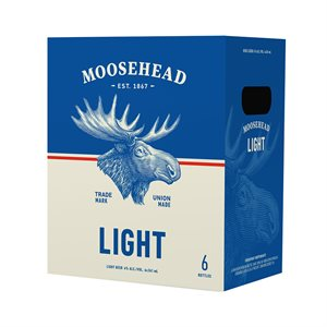 Moosehead Light 6 B