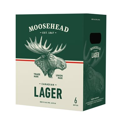 Moosehead Lager 6 B