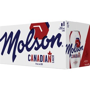 Molson Canadian Lager 8 C
