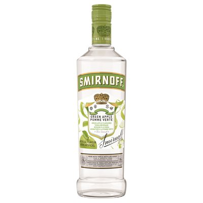 Smirnoff Green Apple Twist 750ml