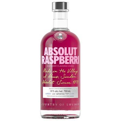 Absolut Raspberri 750ml