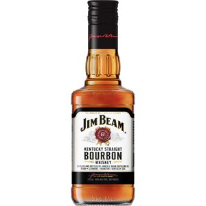 Jim Beam White Label Bourbon 375ml