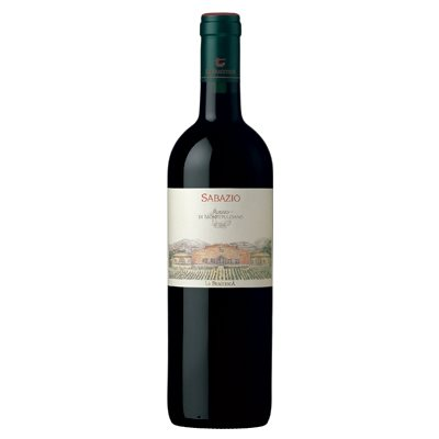 Antinori Estates La Braccesca Sabazio Vino Rosso di Montepulciano DOC 750ml