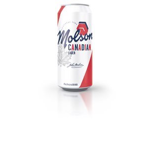 Molson Canadian Lager Vented 473ml