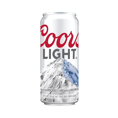 Coors Light 473ml