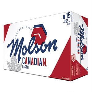 Molson Canadian Lager 15 C