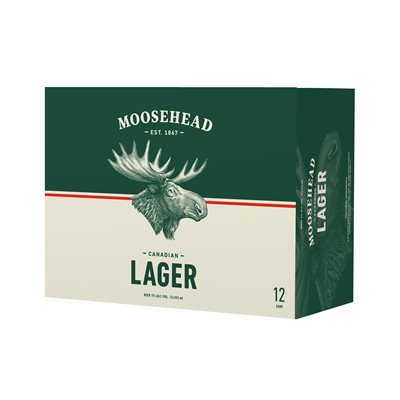 Moosehead Lager 12 C
