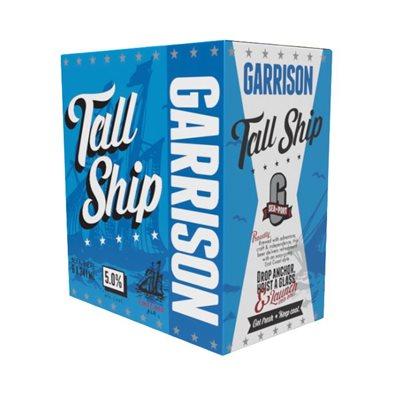 Garrison Tall Ship Amber Ale 6 B