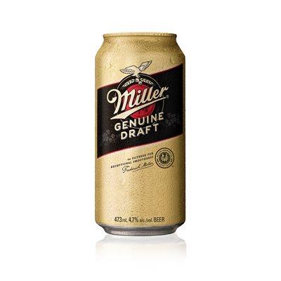 Miller Genuine Draft 473ml