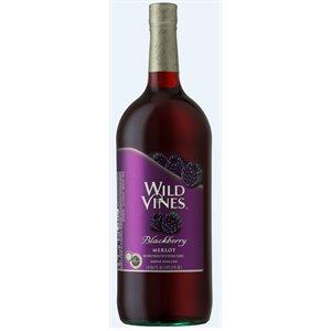 Wild Vines Blackberry Merlot 1500ml