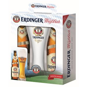 Erdinger Bavaria Gift Pack 2 x 500ml