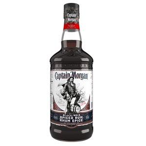 Captain Morgan Black Spiced Rum 750ml