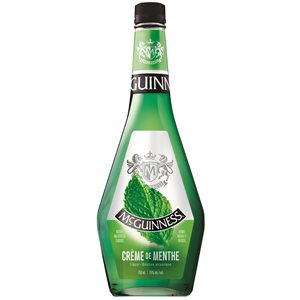 McGuinness Creme De Menthe Green 750ml