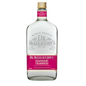 Dr McGillicuddys Raspberry 750ml