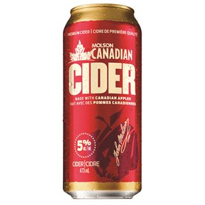 Molson Canadian Cider 473ml