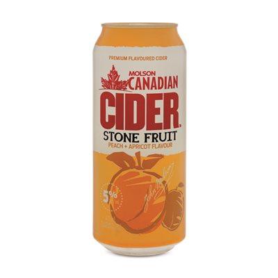 Molson Canadian Cider Stone Fruit 473ml