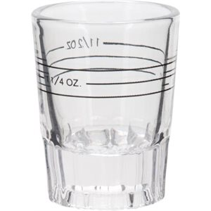 Deluxe Bottom Shot Glass 2oz