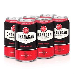 Okanagan Premium Cider Crisp Apple 6 C