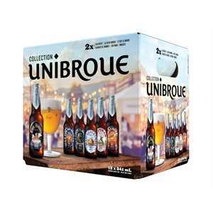 Unibroue Sommelier Mix Pack 12 B