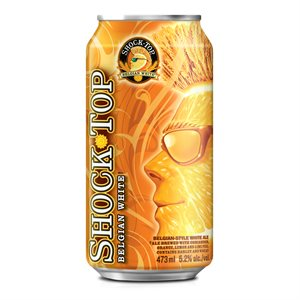 Shock Top Belgian White 473ml