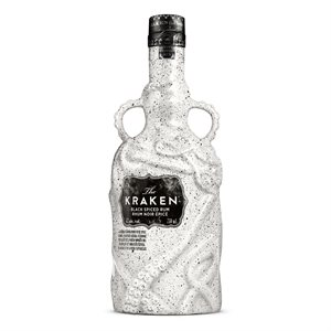 Kraken Black Spiced Rum  Ceramic Bottle 750ml