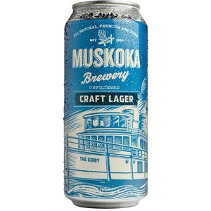 Muskoka Craft Lager 473ml