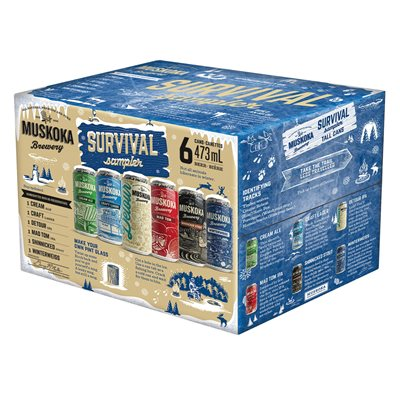 Muskoka Winter Survival Pack 6 C