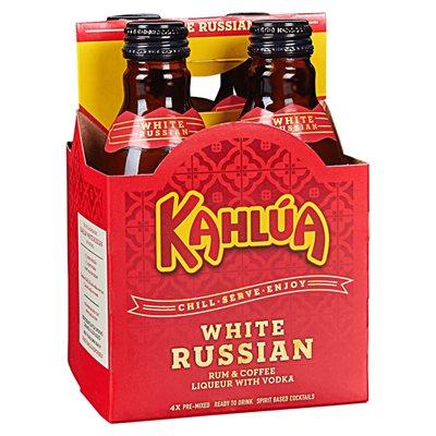 Kahlua White Russian 4 B