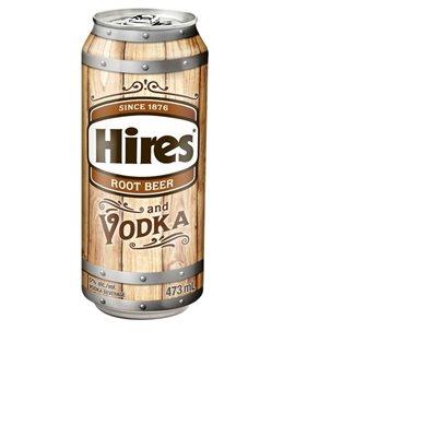 Hires Root Beer & Vodka 473ml