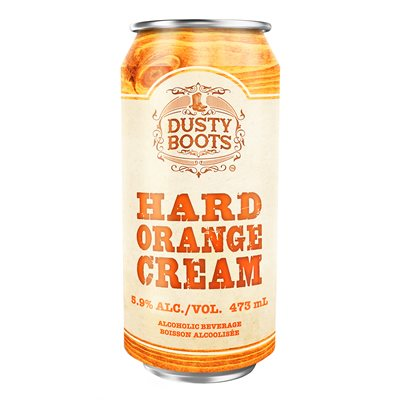 Dusty Boots Orange Cream 473ml