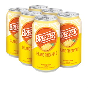 Breezer Island Pineapple 6 C