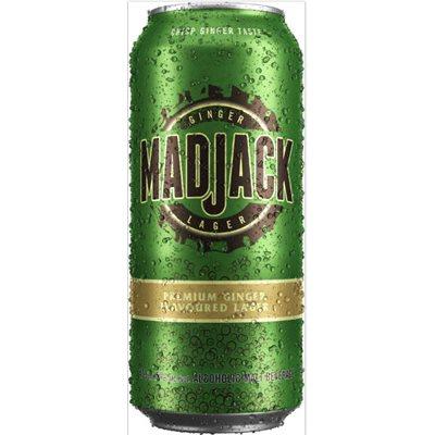Mad Jack Premium Ginger Lager 473ml