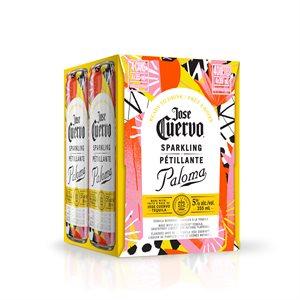 Jose Cuervo Sparkling Grapefruit Paloma 4 C