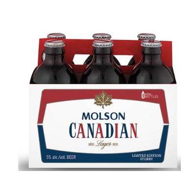 Molson Canadian Stubby Bottle 355ml