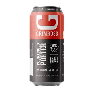 Grimross Pugnacious Porter 473ml