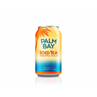 Palm Bay Tropical Iced Tea Pineapple Peach 6 C