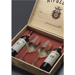 Nipozzano Chianti Rufina & Vecchie Viti Gift Pack 750ml