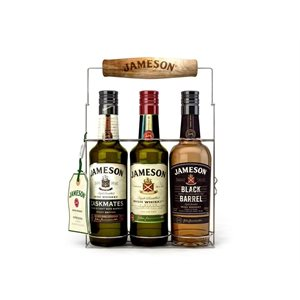 Jameson Irish Whiskey Wire Pack 3 x 200ml