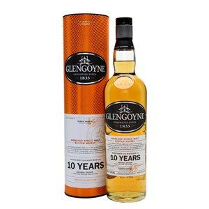 Glengoyne Highland Single Malt Scotch Whisky 10 YO 750ml