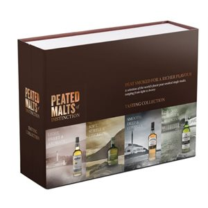 Peated Malts Of Distinction Sampler Pack 4 x 50ml