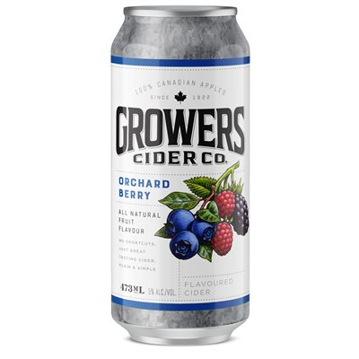 Growers Wild Berry Flavoured Cider 473ml