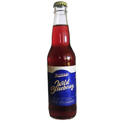 Appleman Farms - Stirlings Wild Blueberry Infused Cider 355ml