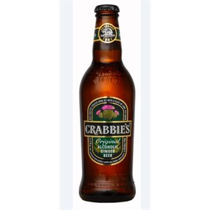 Crabbies Original Alcoholic Ginger Beer 330ml