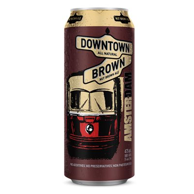 Amsterdam Downtown Brown 473ml