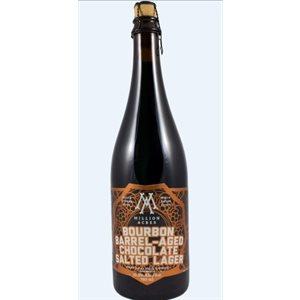 Upstreet Million Acres Dark Chocolate Lager With Seasalt 750ml