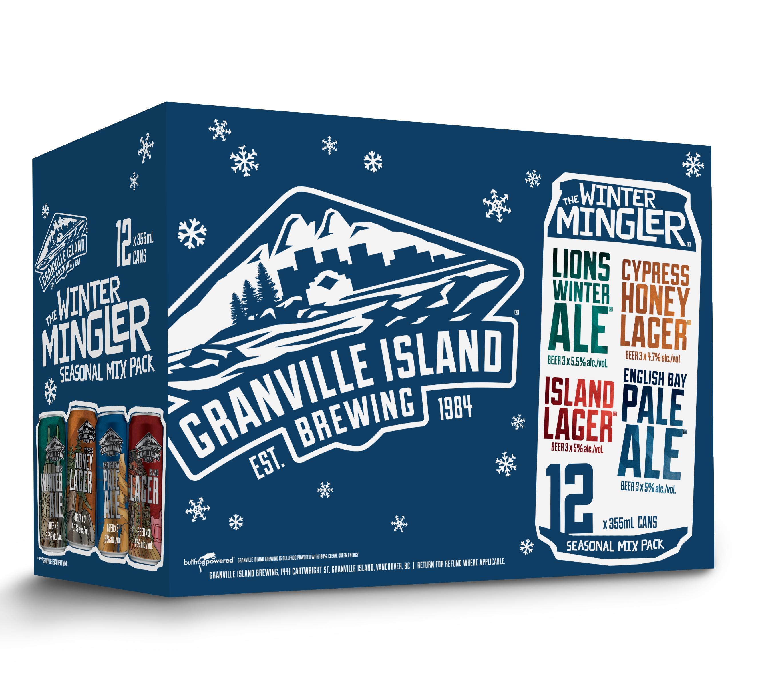 Granville Island Winter Mingler 12 C