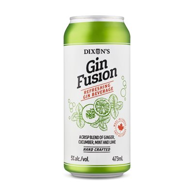 Dixons Gin Fusion 473ml